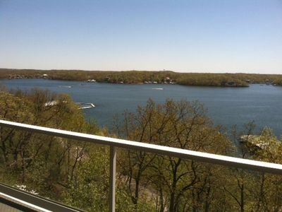 Photo for The view will keep you on the balcony of this 2 bedroom luxury condominium.WIFI!