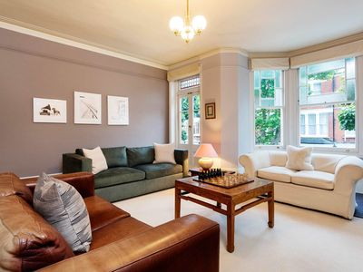 Photo for Enchanting 3BR Victorian House with garden easy way to King's Cross, by Veeve
