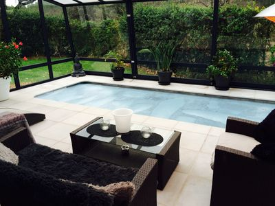 Photo for Haven of peace house with heated pool