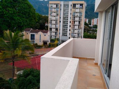Photo for Apartment overlooking the city and mountains!