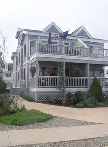 Front Exterior View of Property with two decks!