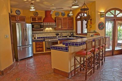 Your gourmet kitchen, cooks available as an option.
