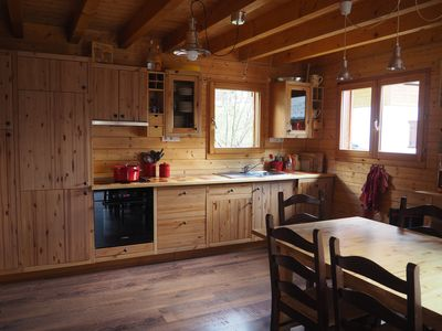 Photo for CHARMING CHALET 4 * IN THE HEART OF THE DOORS OF THE SUN