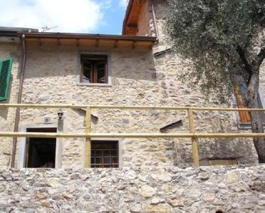 Photo for On a hill in Casoli (Camaiore) Rustic house of 70m ² in a few minutes drive from the beaches of Versilia