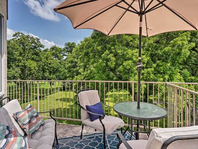 Photo for NEW! Riverfront New Braunfels Condo w/ Pool Access