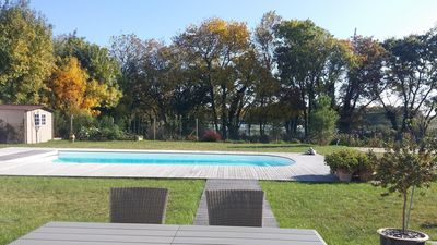 Photo for Charming house in Oléron for 8, with private pool and heated