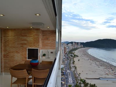 Photo for Beautiful apartment !!! Wonderful. Best place in Praia Grande !!!