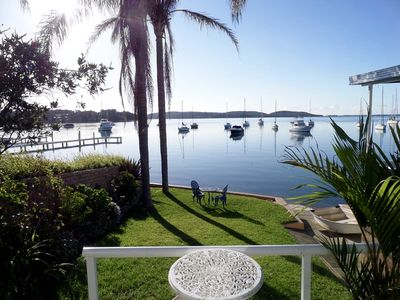 Photo for Tranquil Shores Waterfront Cottage