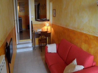 Photo for Cielo Aperto Apartment 15 Century house in old village, 5 mins to beach