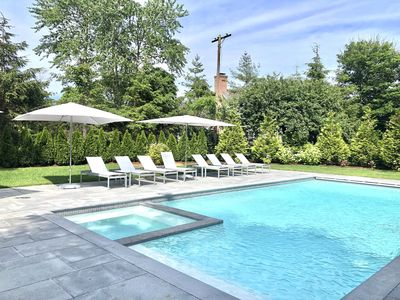 Photo for Location! Pool and Spa! 2 Master Suites, Walk to town, CBI, beach
