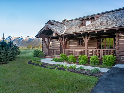 Photo for Eagle's Rest -THE Cabin with Teton Views at JH Golf and Tennis!