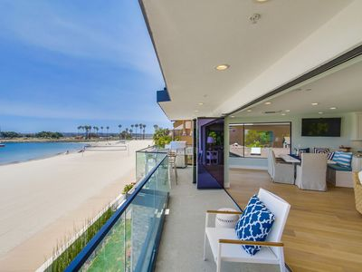 Photo for #1 Rated Bayfront Rental in Mission Beach! Panoramic Water Views!