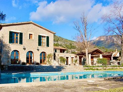 Photo for Classic mansion 'Son Berni' with pool in quiet area of ​​Alaro, 9 pers.