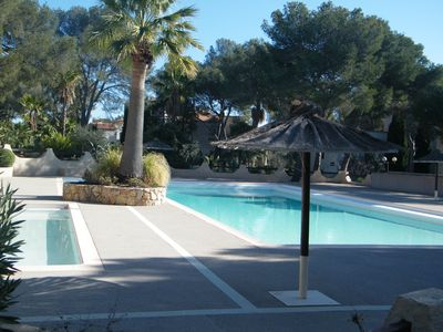 Photo for 2 SWIMMING POOLS IN RESIDENCE SECURE - BEACHES 10MN ON FOOT - ESTEREL