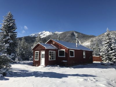 Photo for Cozy cabin experience close to downtown Frisco & best trails!