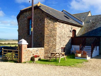 Photo for Granary a converted ironstone Barn a rural location , close to Widemouth Beach..