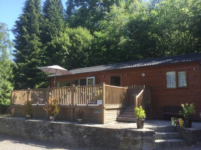 Photo for Modern Lodge set in relaxing surrounding with leisure facilities and free WiFi