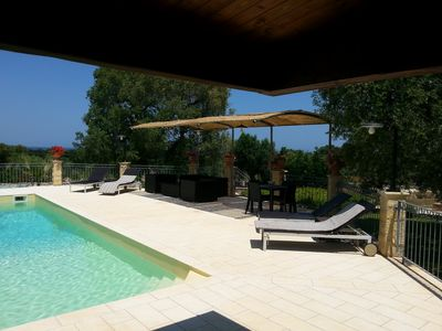 Photo for Villa with private pool - sea view near WWF natural oasis