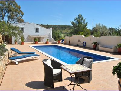 Photo for Cosy cottage in a quiet location with pool and abundant nature.