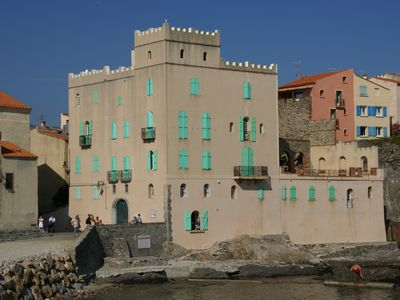 Photo for 2 Bedroom Apartment In Old Town Collioure Steps From Beach, Shops & Restaurants
