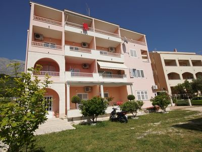 Photo for Studio apartment in Tučepi with Seaview, Terrace, Air condition, WIFI (210-4)