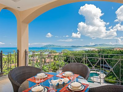 Photo for Stunning Penthouse in town, oceanview, Private Jacuzzi and balconies