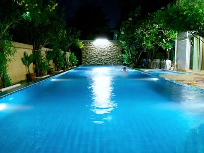 Photo for Relaxing private and safe pool and fitness villa - close to  Int. School Bangkok