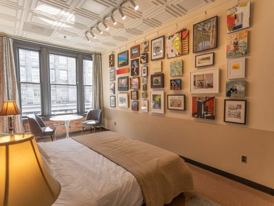 Photo for Art-filled loft in a vibrant creative hub