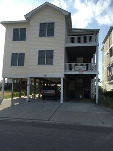 Photo for Spacious Oceanfront Duplex with Private Walkway to Beach Strand
