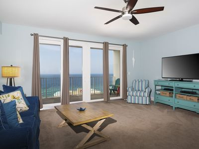"Photo for Newly-Renovated Beach View Condo with 58"" Smart TV"