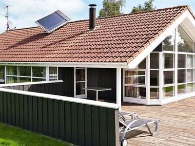 Photo for Grand Holiday Home in Juelsminde near Sea