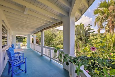 Enjoy the ocean breeze under your private veranda.