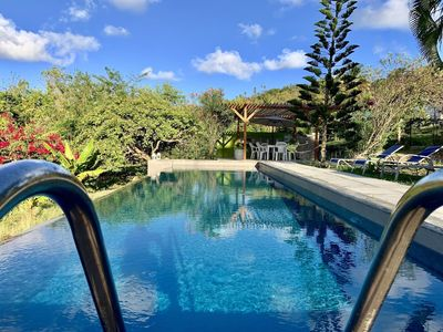 Photo for 5 BEDROOMS 5 BATHS & LAP POOL SURROUNDED BY NATURE
