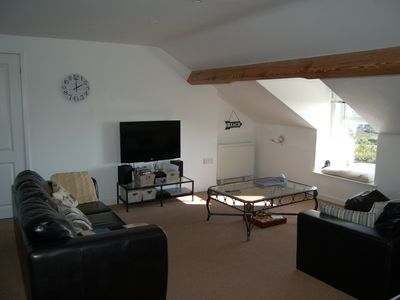 Photo for Modern, Spacious Apartment, Stunning Sea Views, Use of Indoor Heated Pools