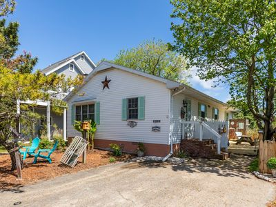 Photo for NEW LISTING! Dog-friendly, beach cottage w/ updated kitchen and outdoor shower