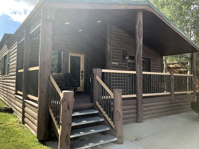 Photo for Cozy Breckenridge Cabin with Resort Amenities