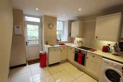 Kitchen area with everything you need