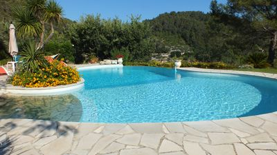 Photo for In a quiet villa surrounded by nature, a very nice independent apartment