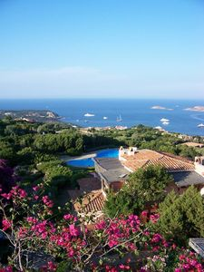 Photo for Porto Cervo - Residence Alto Pevero - Three-room apartment with sea view