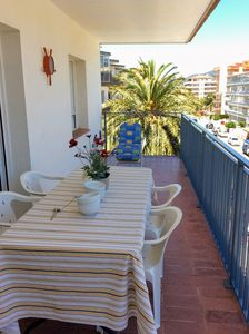 Photo for APARTAMENTOS AQUARIUM (23). VIEW ON THE SEA. 100 MTS BEACH. 6 PERSONS.