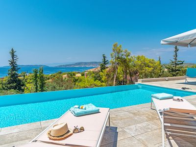 Photo for Villa Melanthi  - Amazing view to Spetses Island