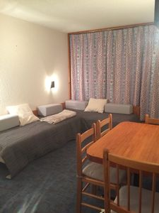 Photo for The arcs 1800 on the slopes studio 4 persons beautiful residential challes