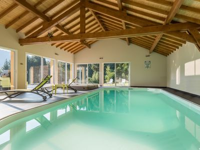 Photo for mountain villa with pool and jacuzzi for relaxation with family or friends.