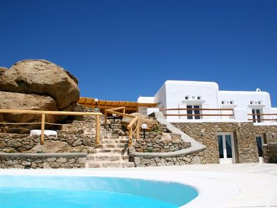 Photo for Luxury villas to rent on Mykonos - Greece