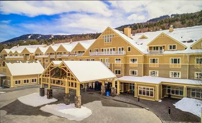 Photo for Ski In/Ski Out @ Attitash, enjoy the Heated Outdoor Pool & 2 Hot Tubs 😍