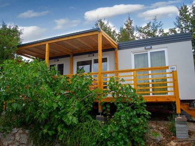 Photo for Mobile home with two bathrooms set in seaside holiday resort