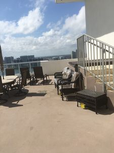 Photo for Duplex oceanfront  2 bed room 3bath rooftop penthouse