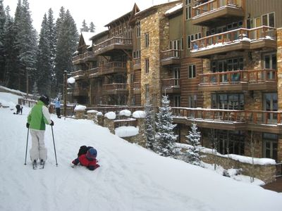 Photo for **  SKI-IN/SKI-OUT  **   Create Family Memories in a Winter Wonderland !