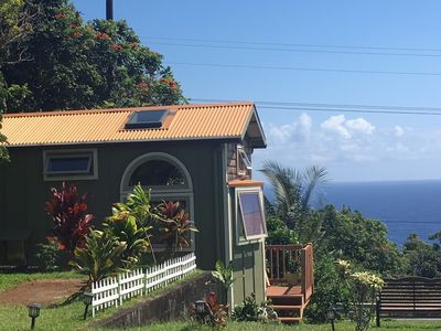 Photo for Adorable ocean-view Tiny Home in Laupahoehoe, HI