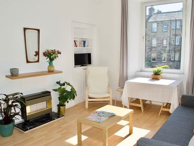 Photo for Bright 1 Bedroom Flat Near Leith